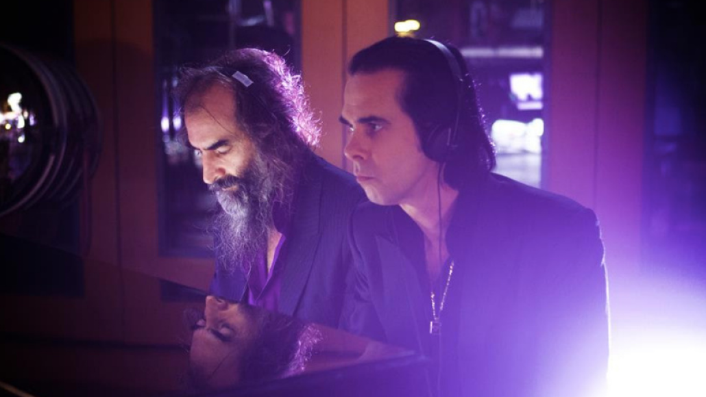 Nick Cave and Warren Ellis, photo by Kerry Brown