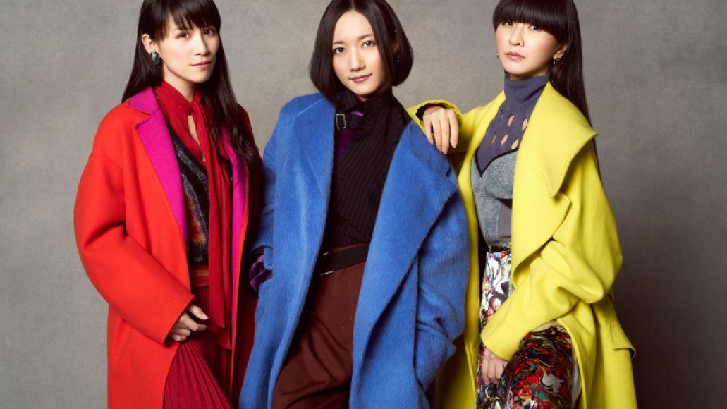 Perfume, photo by Billboard Japan