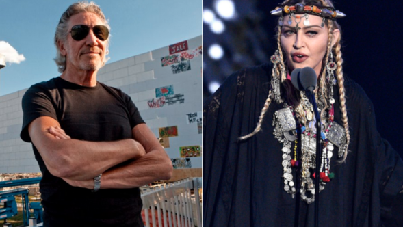 Roger Waters and Madonna