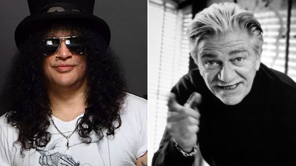 Slash and Seymour Cassel 1