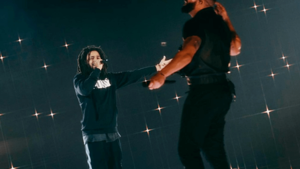 "Drake J Cole reunite London ""Middle Child"" tease new collaboration"