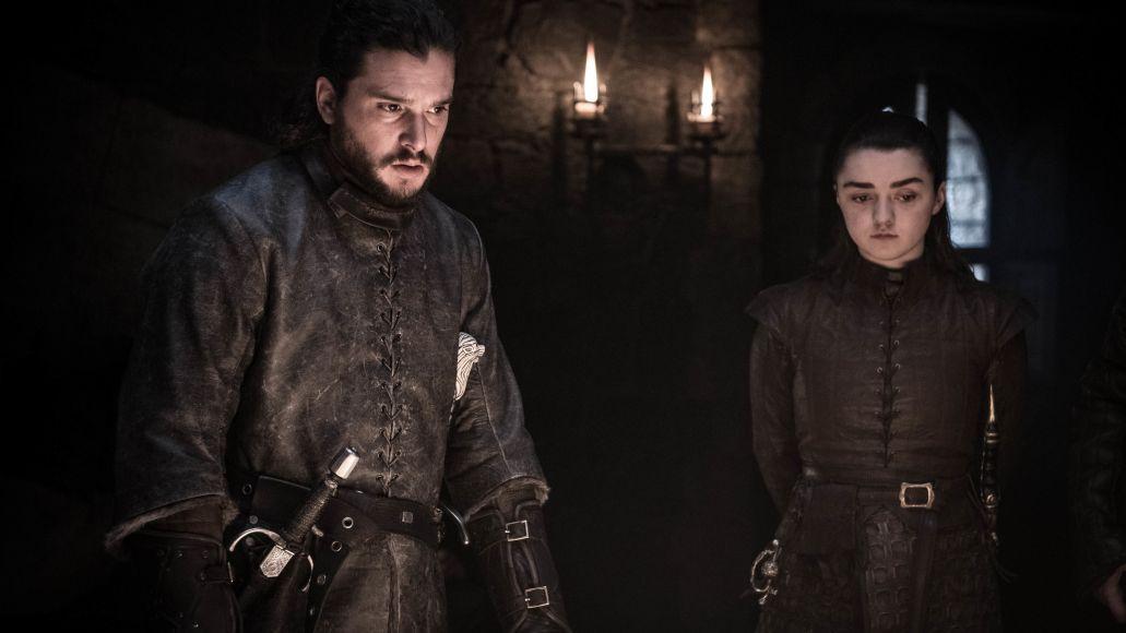 Jon Snow, Arya Stark, Game of Thrones, HBO