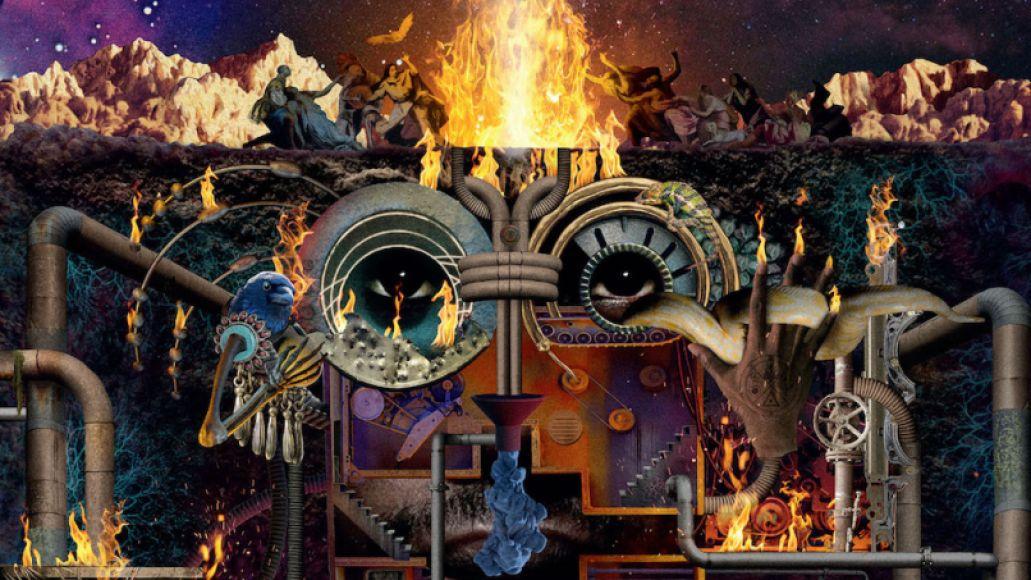 Flying Lotus Flamagra album artwork
