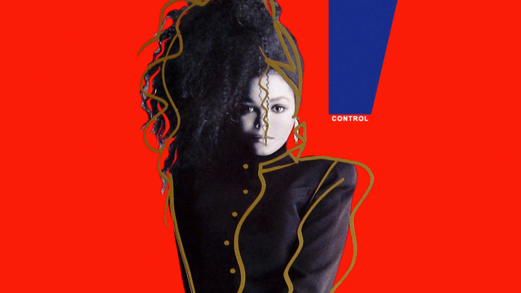 Janet Jackson Control vinyl reissue red white first time since 1986