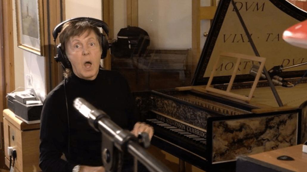 paul mccartney harpsichord sam cohen premiere