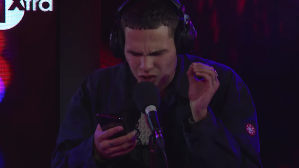 """slowthai portishead """"glory box"""" cover bbc live lounge performance video release"""
