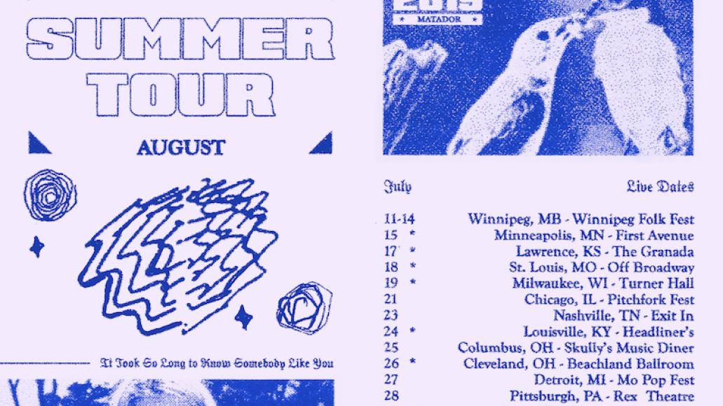 snail mail summer us tour dates poster 2019