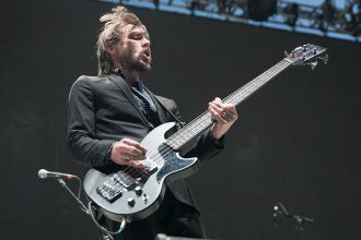 Refused at 2019 Punk Rock Bowling Festival