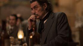 Ian McShane as Al Swearengen in HBO's Deadwood: The Movie