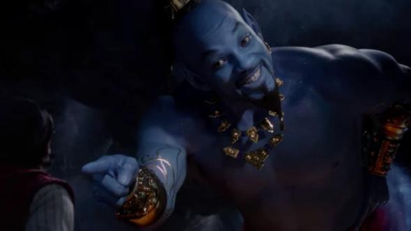 """Aladdin genie Will Smith DJ Khaled """"Friend Like Me"""""""