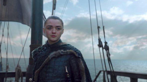 Arya in Game of Thrones