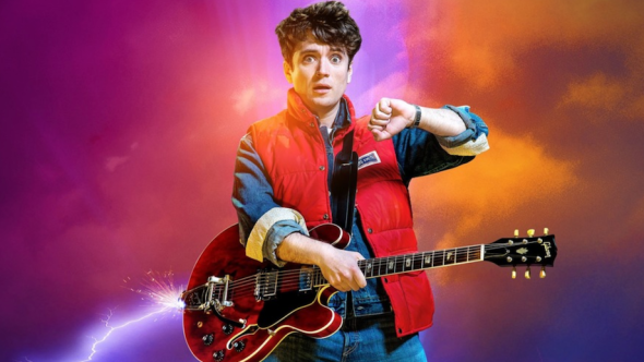 Back to the Future the Musical England Olly Dobson