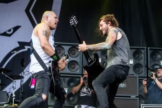 Bad Wolves at 2019 Sonic Temple Festival