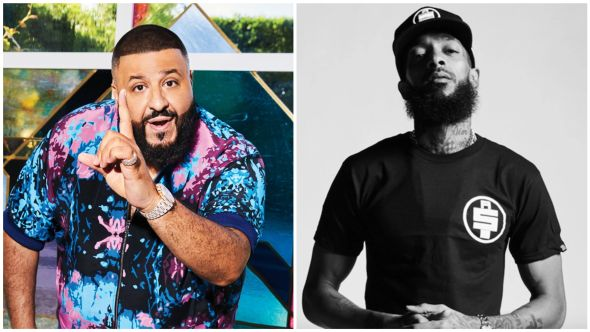 DJ Khaled and Nipsey Hussle Father of Asahd Higher