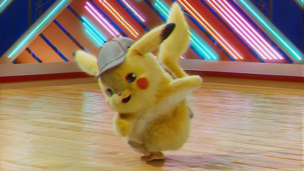 Detective Pikachu Pokemon Ryan Reynolds troll rickroll dance
