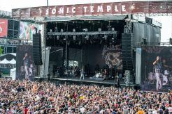 Fans at Sonic Temple Festival