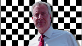 Mayor BIll de Blasio ska democratic presidential candidate