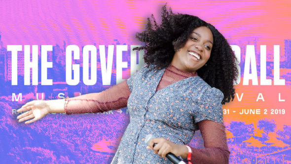 Noname, photo by Ben Kaye governors ball 2019 new york city festival win tickets