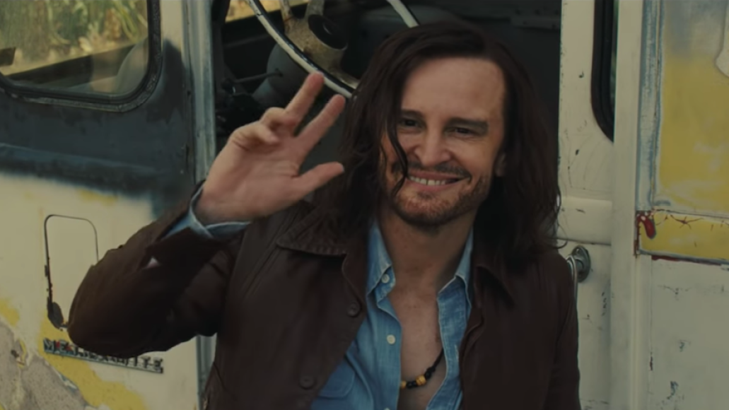 Damon Herriman as Charles Manson in Once Upon a Time in Hollywood