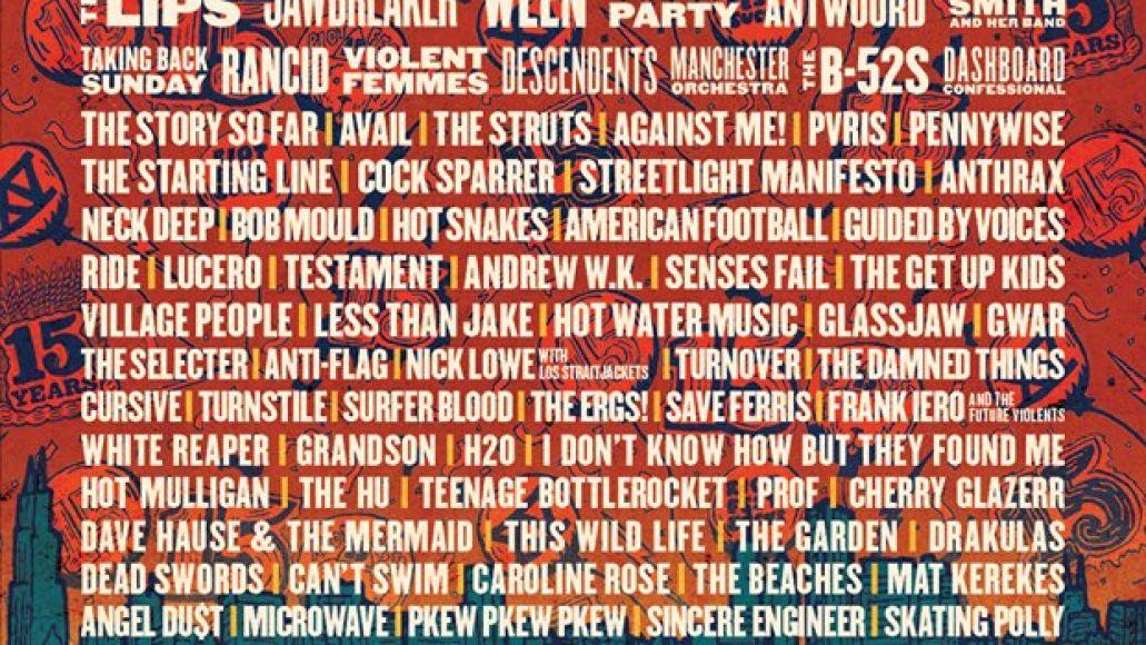 Riot Fest 2019 lineup