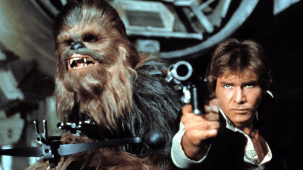 Peter Mayhew, Harrison Ford, Star Wars
