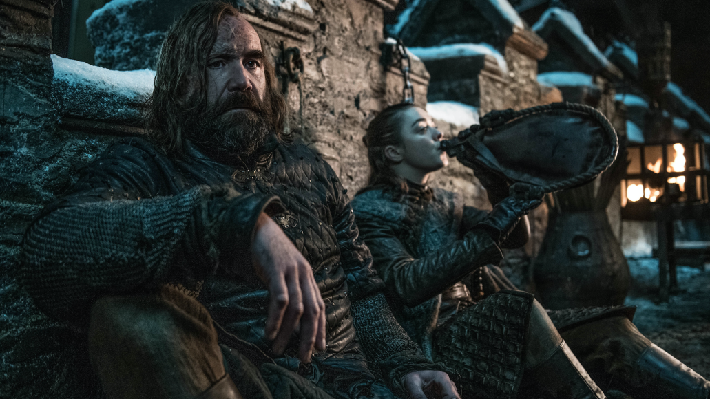 Rory McCann, Maisie Williams