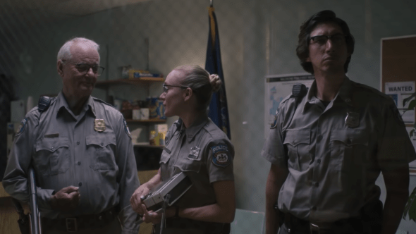 Bill Murray, Adam Driver, Chloe Sevigny watch zombies in The Dead Don't Die