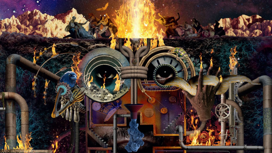 flying lotus flamagra artwork album Flying Lotus premieres star studded new album Flamagra: Stream