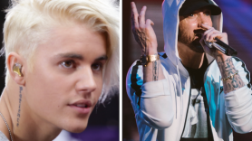 Justin Bieber Eminem diss new generation rap controversy beef
