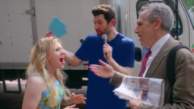 kate mckinnon reese witherspoon impersonation billy on the street video