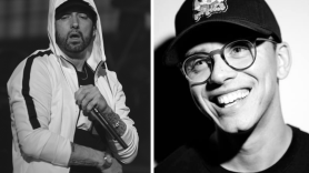 "eminem logic ""homicide"" new song collaboratipn rap releases music stream"