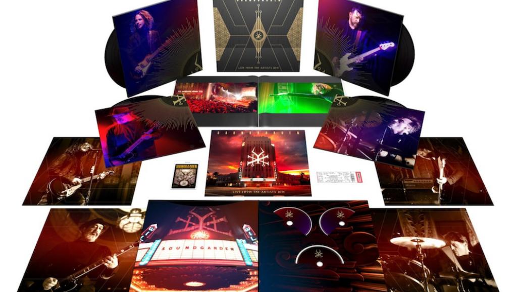 soundgarden live album artists den super deluxe Soundgarden announce new live album and concert film