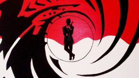 james bond 007 barrel logo