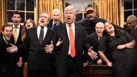 Alec Baldwin as Donald Trump on Saturday Night Live retire so done SNL