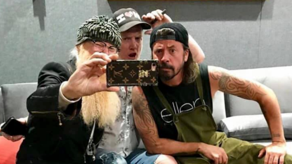Billy Gibbons Josh Homme, and Dave Grohl