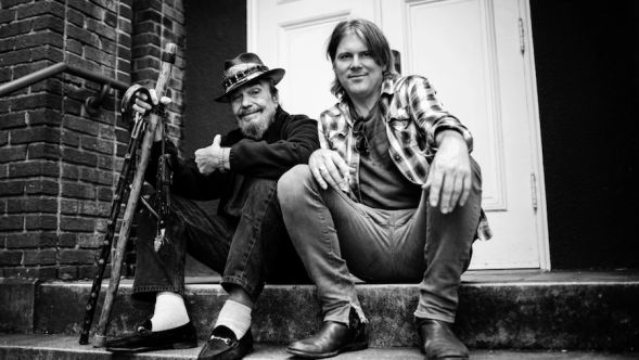 Dr. John and producer Shane Theriot, photo by Sandrine Lee final album