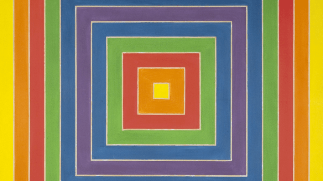 Frank Stella, Concentric Square, 1966 Makeunder Origins In Between My Dead-End Jobs