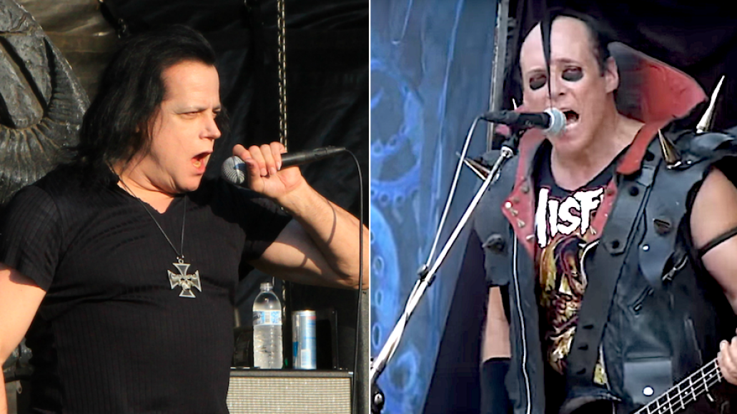 Glenn Danzig and Jerry Only