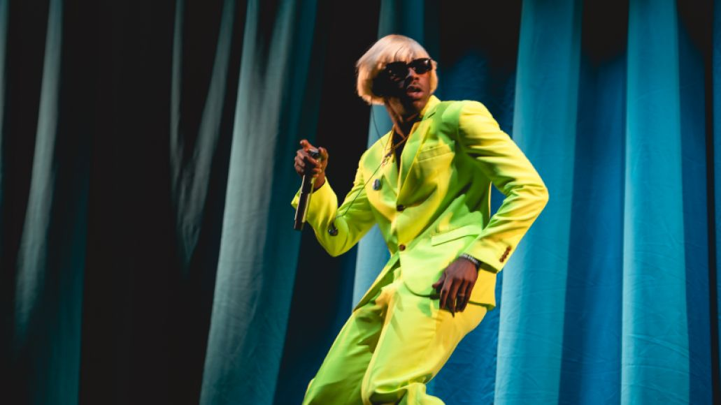 Tyler, the Creator, photo by Julia Drummond Governors Ball 2019