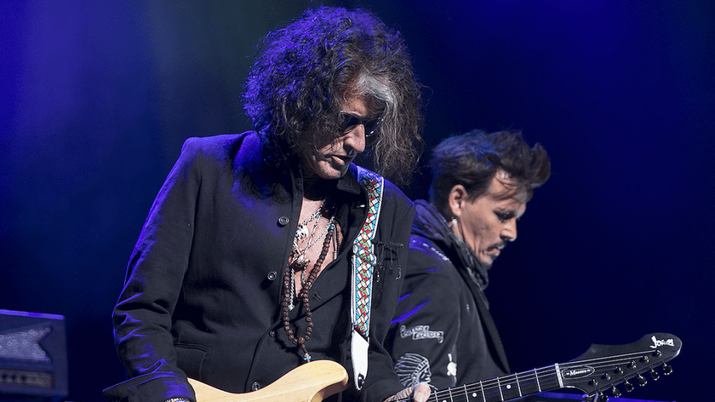 The Hollywood Vampires' Joe Perry at the Warfield Theatre