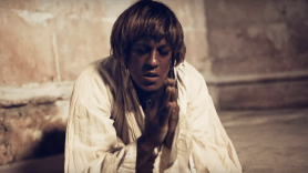 "Mykki Blanco as Joan of Arc in Madonna's video for ""Dark Ballet"""