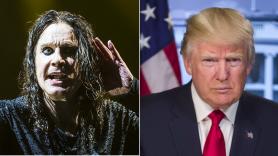 Ozzy Osbourne and Donald Trump