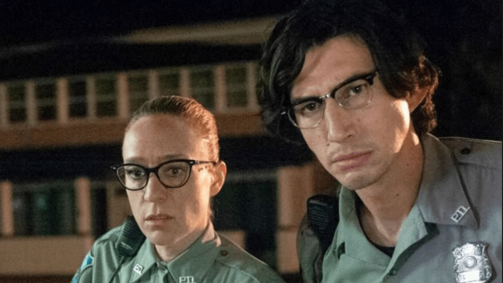 Adam Driver and Chloë Sevigny in The Dead Don't Die