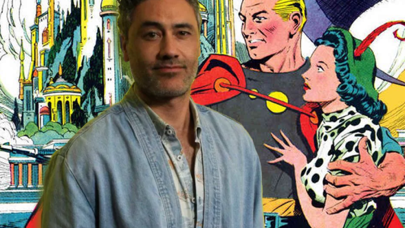 Taika Waititi (photo by Heather Kaplan) and Flash Gordon animated movie disney fox