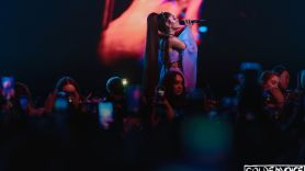 Ariana Grande, photo by Goldenvoice Planned Parenthood Abortion donation charity