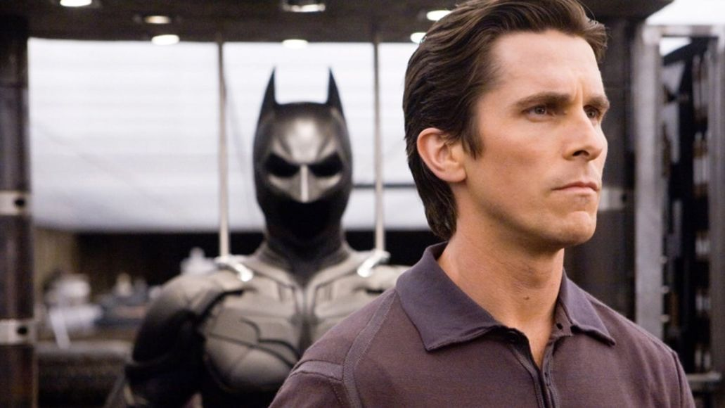 Christian Bale as Batman in The Dark Knight