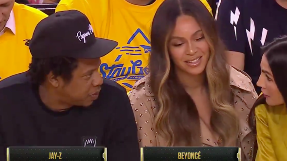 beyonce jayz nicole curran game 3 controversy threats beyhive