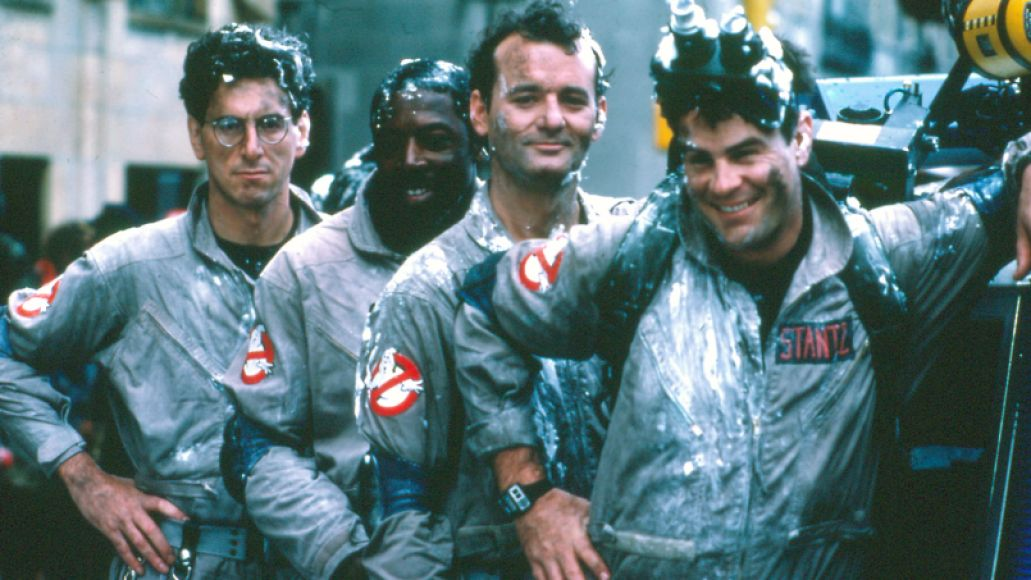 Dan Aykroyd, Bill Murray, Harold Ramis, Ernie Hudson in Ghostbusters