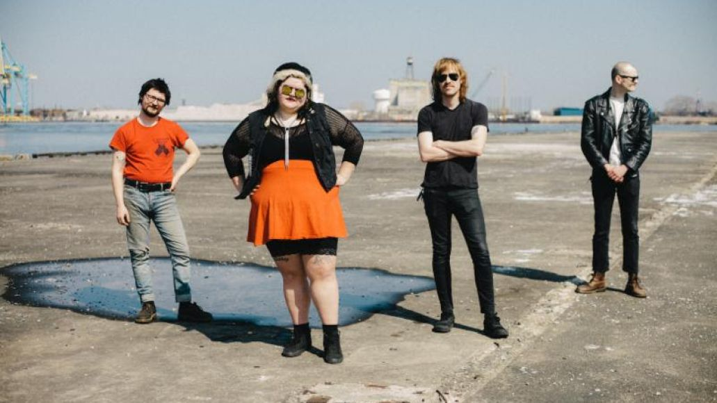 sheer mag a distant call blood from a stone new album sophomore LP record