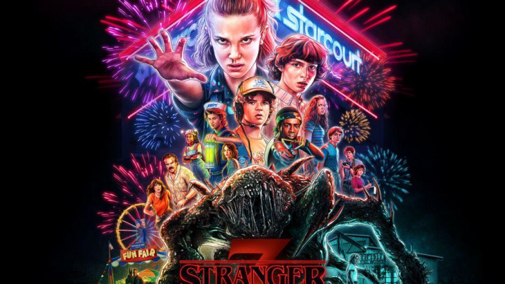 Stranger Things 3 Original Score Cover Artwork
